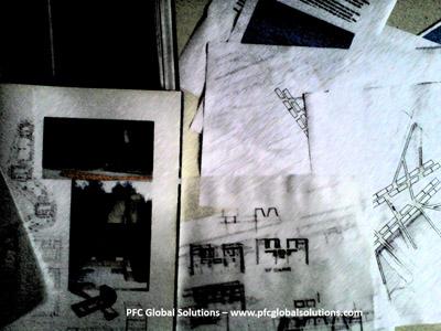 croquis estructuras pfc madrid 2