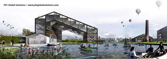 Arquitectura 3D PFC Global Solutions 2